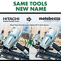 Hitachi, now Metabo HPT